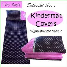Kindermat Cover With Attached Blanket And Pillow