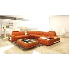 leather hardwood 6 piece sectional sofa pc nevio