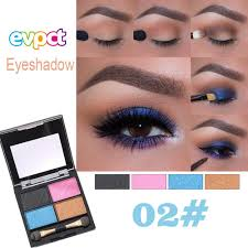 Light Pink And Blue Eyeshadow Amazon Com Highlighter Eyeshadow Palette Nibito 4 Colors