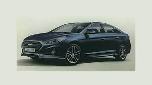 2018 hyundai sonata facelift. exellent facelift throughout 2018 hyundai sonata facelift a