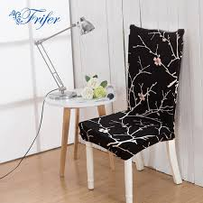 high elastic dining chair covers spandex stretch room kitchen stain proof chair protector cover for