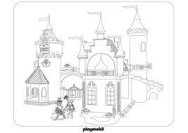 Coloriage Chateau Princesse Playmobil L L L