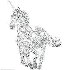Unicorn And Fairy Coloring Pages Unicorn Fairy Coloring Pages As