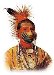 Indian War Horse Paint Chart War Paint Meanings