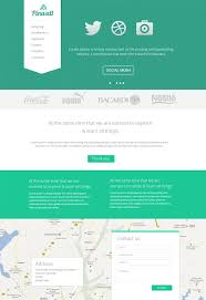 Modern Website Templates Interesting 28 Premium And Free PSD Website Templates Modern Website Template