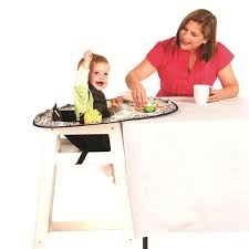 neatnik saucer all in one restaurant high chair cover and placemat