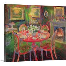 art dining room furniture. Delighful Dining U0027The Dining Room Ca2000u0027 By William Ireland Painting Print For Art Room Furniture G