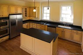 Antique Black Kitchen Cabinets Custom Inspiration