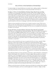 how to write a reflection paperworld of writings world of writings how to write a critical and reflective reaction paper by heatherrhunt oe5q8ow3