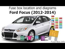 2014 Focus Fuse Box Diagram Fucous Fuse Box Diagram Ford 2014