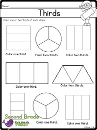 Fractions Printables | Worksheets, Math and Homeschool