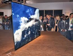 sony tv 4k oled. the sony 77-inch bravia a1e 4k ultra hd oled tv at ces 2017 tv 4k oled