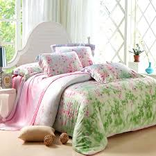 pink and green comforters amazing hot