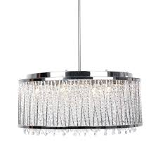 chandeliers rectangle crystal chandelier light with drum shade chrome parrot uncle more views home depot