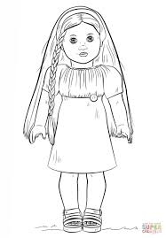 Doll Coloring Pages American Girl Dolls Awesome Page Of
