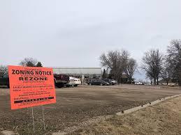 landscape garden centers wants to rezone property for future development