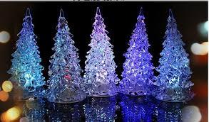 Best Led Christmas Tree Lights Fashion Holiday Decoration Mini Colorful Led  Christmas Tree Light Best Gift ...