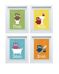 kids bathroom wall art on bathroom wall art set with kids bathroom wall art kemist orbitalshow