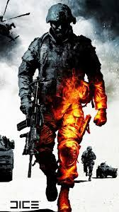 Military Burning Soldier wallpaper ...