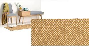 mustard yellow rug runner mustard yellow runner hallway rug wool geometric x mustard yellow rug runner