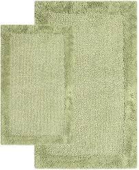 chesapeake merchandising bella napoli 2 pc bath rug set