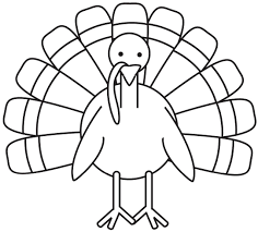 Small Picture turkey coloring page Free Large Images School decoration ideas