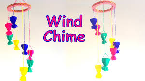 How To Make A Wind Chime Diy How To Make Wall Hanging Wind Chime Using Yarn Easily Home