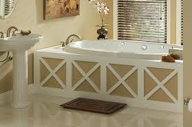 swirl way luxury whirlpool tub installed in bathroom