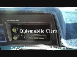 oldsmobile ciera stereo removal youtube  at 1990 Olds Trofeo Stereo Amp Wire Diagram