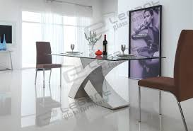 Modern Glass Dining Table 2014 Modern Glass Dining Table And Stainless Steel Dining Table