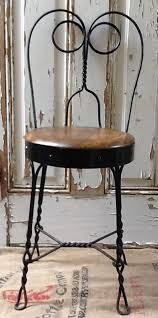 antique iron wood ice cream parlor chair by revives on 139 00