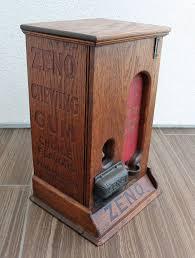 Wooden Vending Machine Fascinating Antique 48s Oak Wood Wooden Zeno Penny One Cent Gumball Machine