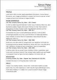 Key Features Resume Wizard Openoffice Open Office Resume. job ...