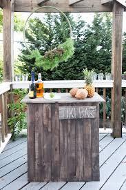 diy outdoor bar ideas the garden glove