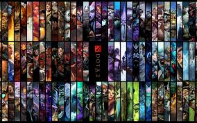 download wallpaper 3840x2400 all the heroes dota 2 dota ultra hd