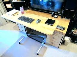 diy adjule standing desktop computer stand desk height simplified building concepts sit