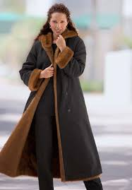 hooded and reversible plus size women s coat for winter