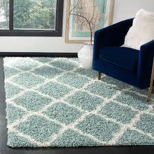 Shag rugs Walmart Safavieh Daley Geometric Plush Shag Area Rug Or Runner Walmartcom