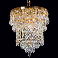 hanging a crystal chandelier gold color 1115 ry kamenický Šenov