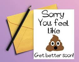 Get Well Soon Cards Printables Funny Printable Get Well Soon Cards Download Them Or Print