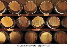 oak wine barrels. Wine Barrels Stock Photo Oak E