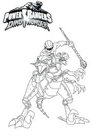 Power Rangers Color Pages Power Rangers Thunder Coloring Pages Power