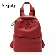 sisjuly high quality bags women luxury leather backpack small backpacks designer for girls 2018 fashion female mini book bag sac jansport backpacks school