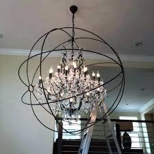 best of crystal globe chandelier for globe chandelier crystal globe chandelier and bubble chandelier unusual crystal