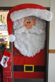 winter door decorating contest. Christmas Bulletin Board And Door Decoration: Cute Santa Decoration Winter Decorating Contest C