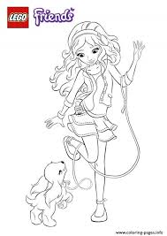 Small Picture lego friends dog Coloring pages Printable