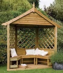 garden corner arbours uk plans for hip