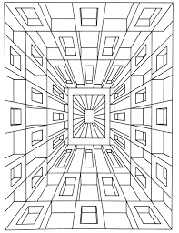 Small Picture op art jean larcher 1 Op Art Coloring pages for adults JustColor
