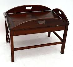 butlers tray coffee table mahogany butler tray coffee table butlers tray