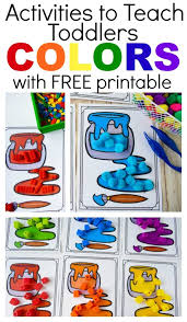 Welcome to all kids network! 6 Ways To Teach Colors To Toddlers With Free Printable